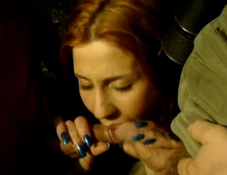 both cum and she just uses them as lube and keeps sucking both